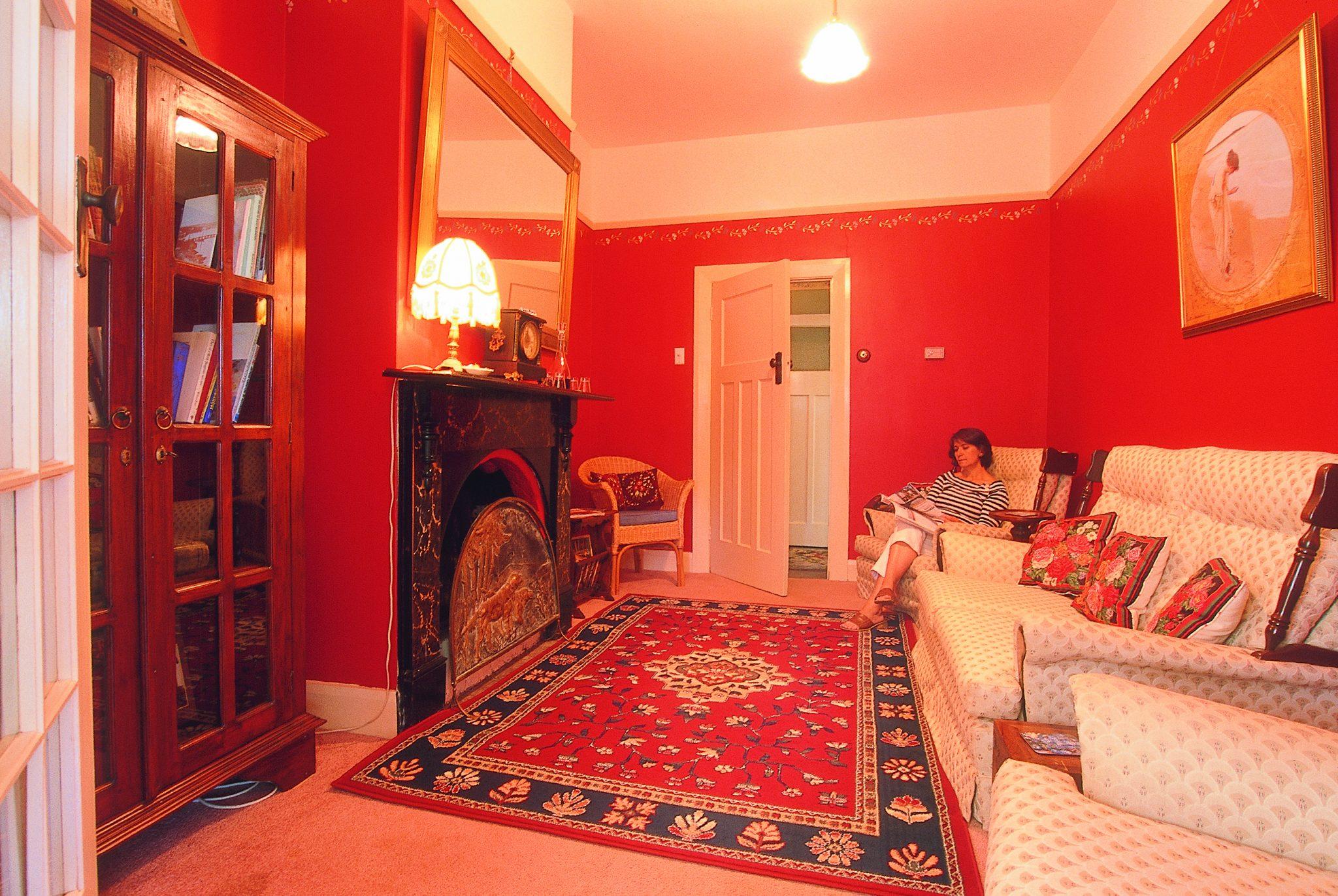B&B sitting room