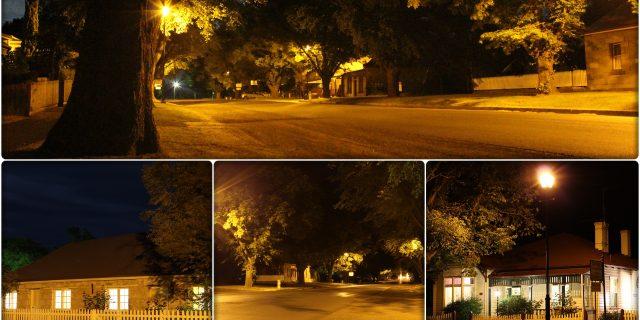 Night views of Ross